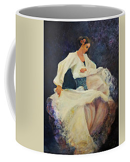 Flamenco In White Coffee Mug