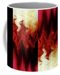 Flames Coffee Mug by Cherie Duran