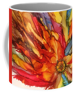 Burst Coffee Mug by Pat Purdy