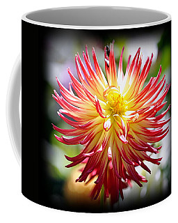 Coffee Mug featuring the photograph Flaming Beauty by AJ Schibig