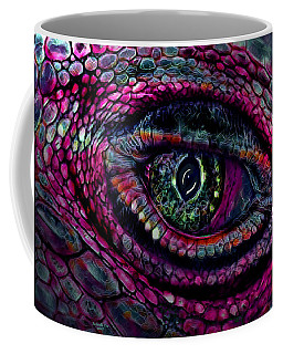 Flaming Dragons Eye Coffee Mug