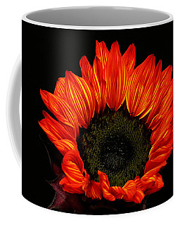 Coffee Mug featuring the photograph Flaming Flower by Judy Vincent