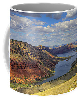 Coffee Mug featuring the photograph Flaming Gorge by Spencer Baugh