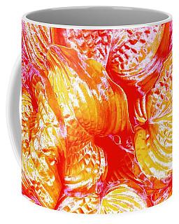 Flaming Hosta Coffee Mug