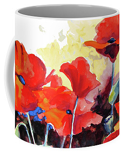 Flaming Poppies Coffee Mug