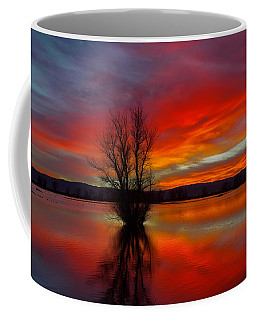 Flaming Reflections Coffee Mug