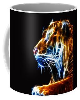 Flaming Tiger Coffee Mug