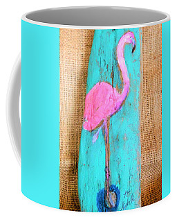 Flamingo Coffee Mug by Ann Michelle Swadener