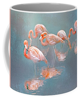 Flamingo Blues Coffee Mug