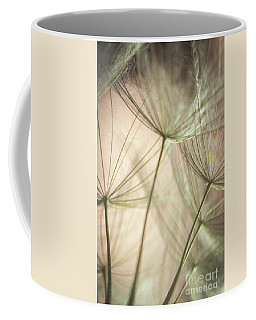 Flamingo Dandelions Coffee Mug by Iris Greenwell