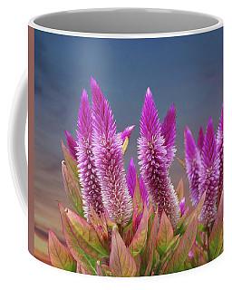 Flamingo Feather  Coffee Mug