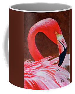 Flamingo Fluff Coffee Mug
