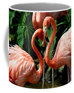 Flamingo Heart Coffee Mug