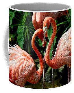 Flamingo Heart Coffee Mug