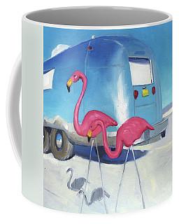 Flamingo Migration Coffee Mug