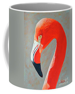 Flamingo Portrait Coffee Mug