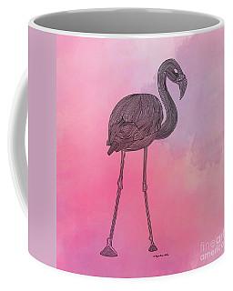 Flamingo5 Coffee Mug by Megan Dirsa-DuBois