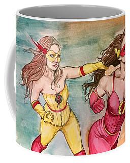 Flash Fight Coffee Mug by Jimmy Adams