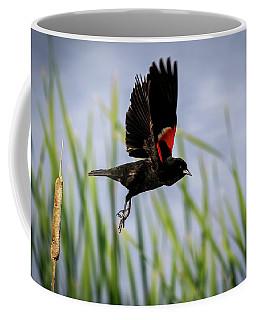 Flash Of Red Coffee Mug