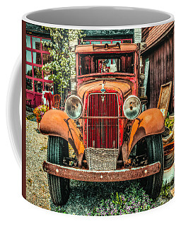 Coffee Mug featuring the photograph Flat Bed Ford by Nick Zelinsky