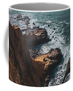 Coffee Mug featuring the photograph Flat Rock Point by Andy Konieczny