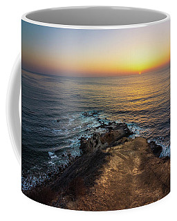 Coffee Mug featuring the photograph Flat Rock Point Sunset by Andy Konieczny