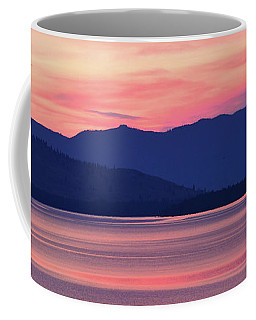 Flathead Lake At Sunrise Coffee Mug