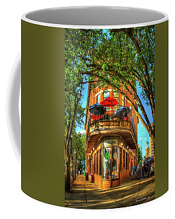 Flatiron Style Pickle Barrel Building Chattanooga Tennessee Coffee Mug