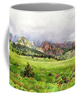 Flatirons Vista Coffee Mug