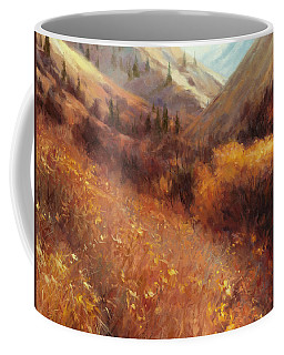 Flecks Of Gold Coffee Mug