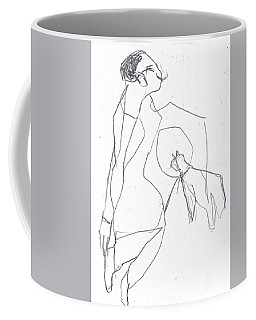 Fleeing Woman Coffee Mug
