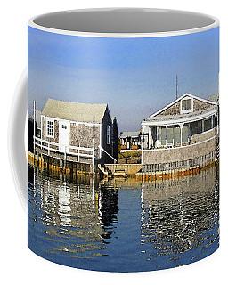 Fletchers Camp And The Little House Sandy Neck Coffee Mug