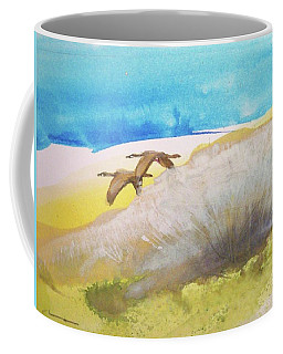 Coffee Mug featuring the painting Fleur La Nuit by Ed Heaton