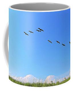 Flight Of Eight Coffee Mug