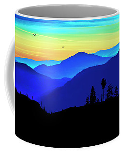 Coffee Mug featuring the photograph Flight Of Fancy by John Poon