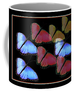 Flight Of The Butterflies Coffee Mug by Rosalie Scanlon