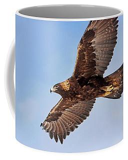 Flight Of The Golden Eagle Coffee Mug