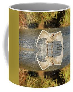 Flight Of The Swan  Coffee Mug