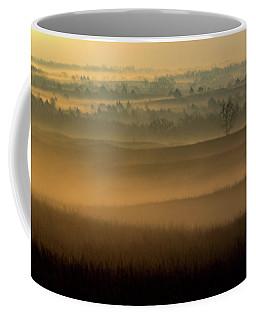 Coffee Mug featuring the photograph Flint Hills Sunrise by Jay Stockhaus