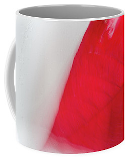 Floating Red Leaf 3 Coffee Mug