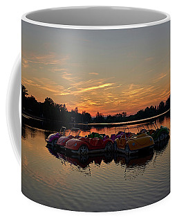 Coffee Mug featuring the photograph Floaters by Tgchan