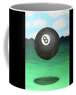 Floating 8 Coffee Mug