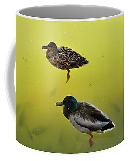 Floating Around Coffee Mug