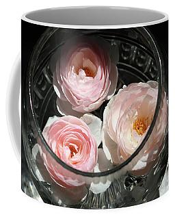 Floating Flowers Coffee Mug by Mary-Lee Sanders