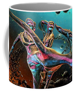 Floating In The Universe Coffee Mug by Ian Gledhill