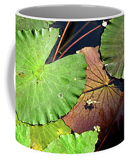Floating Lily Pads Coffee Mug