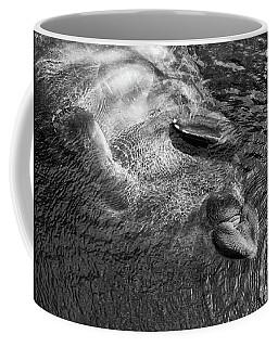 Floating Manatee Coffee Mug