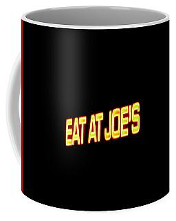 Floating Neon - Eat At Joes Coffee Mug