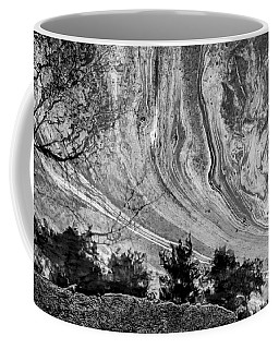 Floating Oil Spill On Water Coffee Mug