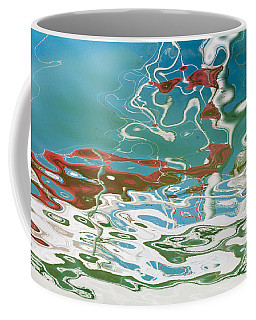 Floating On Blue 35 Coffee Mug